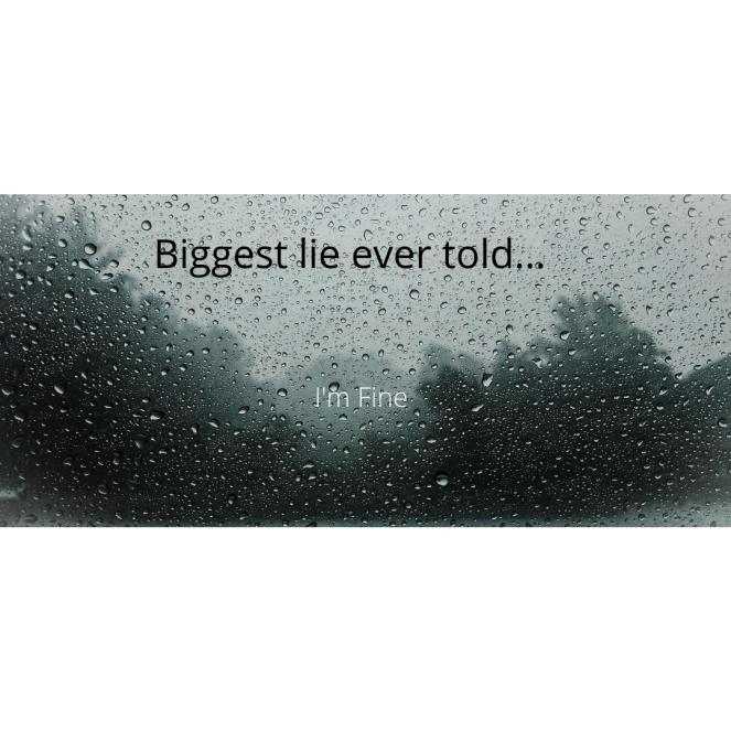 Biggest lie ever told...